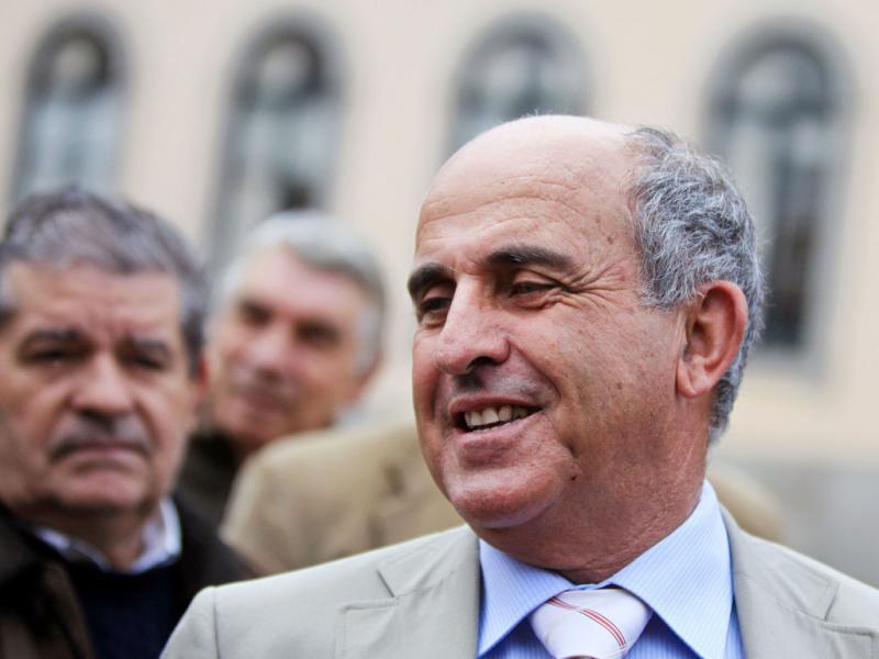 José Manuel Coelho em campanha - ESTELA SILVA/LUSA