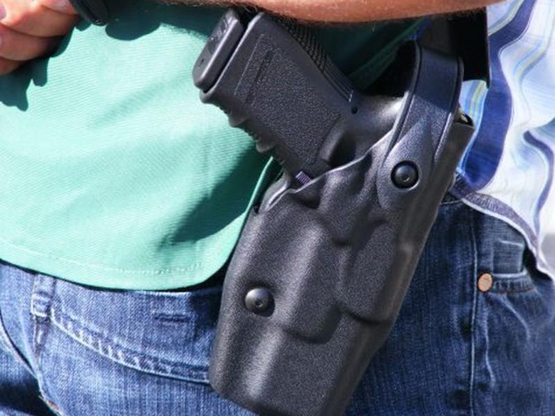 Pistola polícias