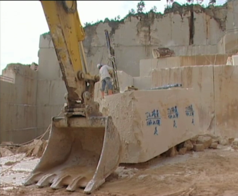 Pedreira: exportação para a China