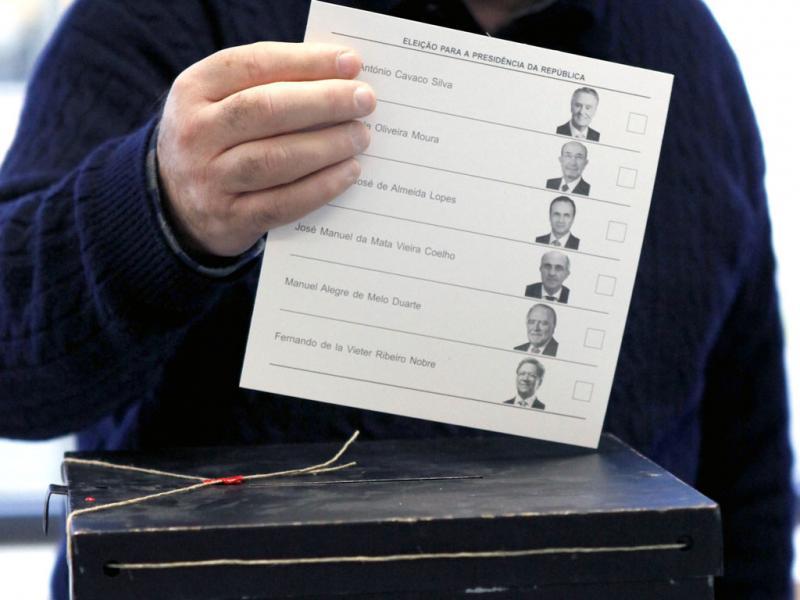 Dia de eleições - ANTONIO COTRIM/LUSA