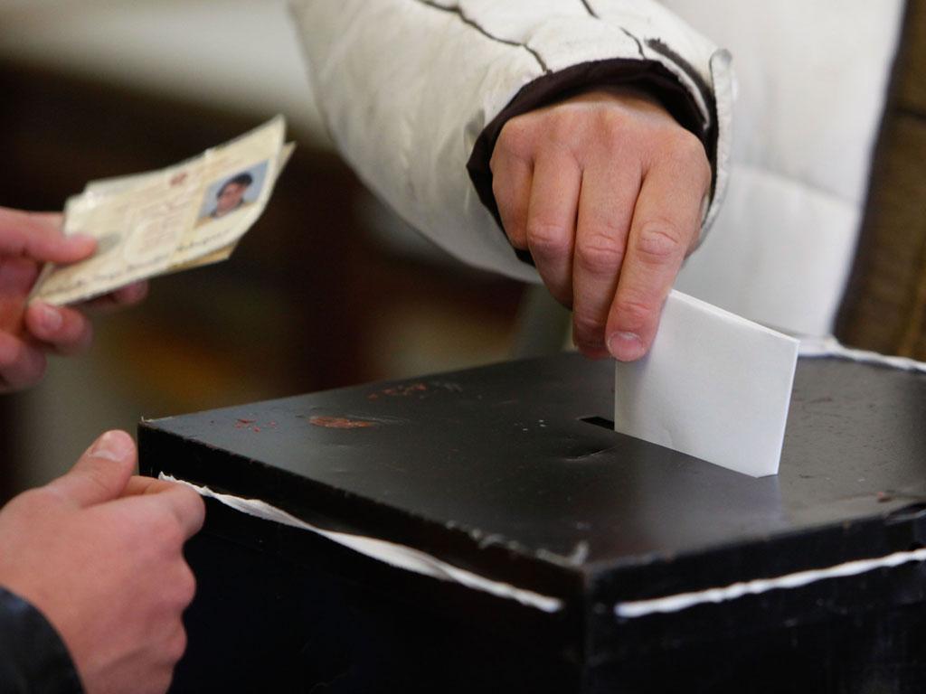 Eleições presidenciais - GREGÓRIO CUNHA/LUSA