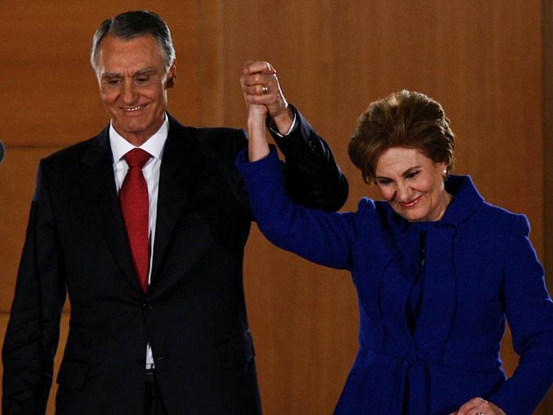 Eleições presidenciais - Cavaco Silva / TIAGO PETINGA/LUSA