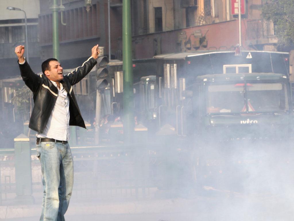 Protestos no Cairo (EPA)