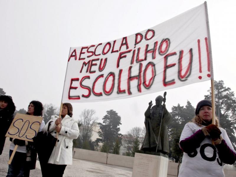 Protesto Ensino Privado (PAULO CUNHA/LUSA)