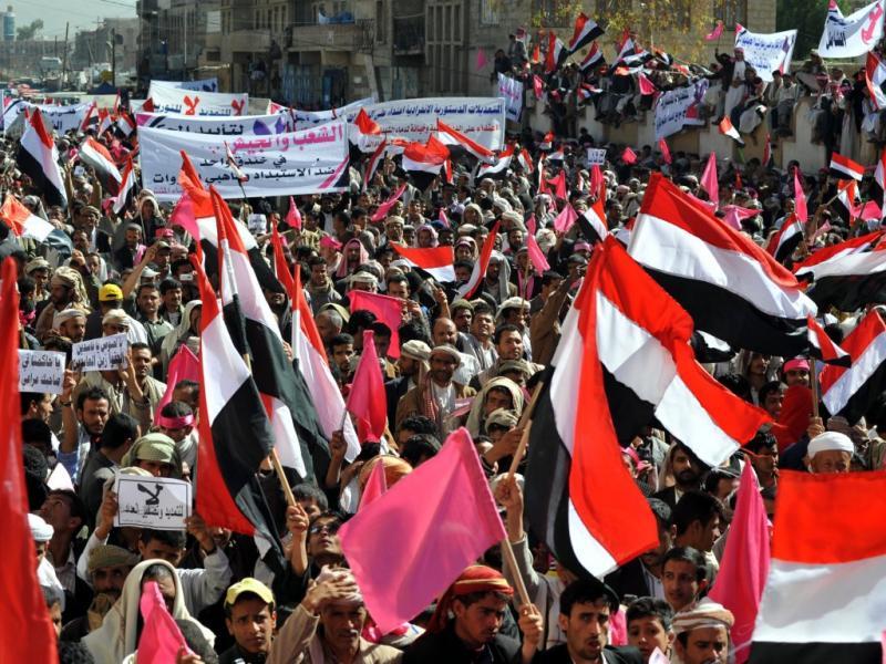 Protestos no Iémen (EPA/YAHYA ARHAB)