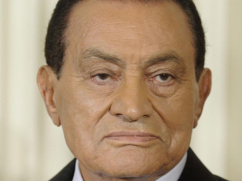 Hosni Mubarak - EPA/MICHAEL REYNOLDS