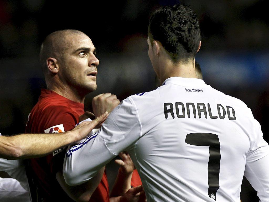 Pandiani e Ronaldo (EPA/Jesus Diges)