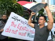 Protestos no Egipto (EPA/NARONG SANGNAK)