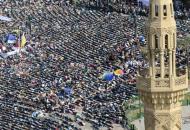 Protestos no Egipto (EPA)