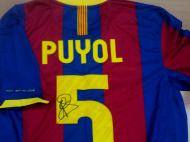 Camisola de Puyol no Maisfutebol na TVI24