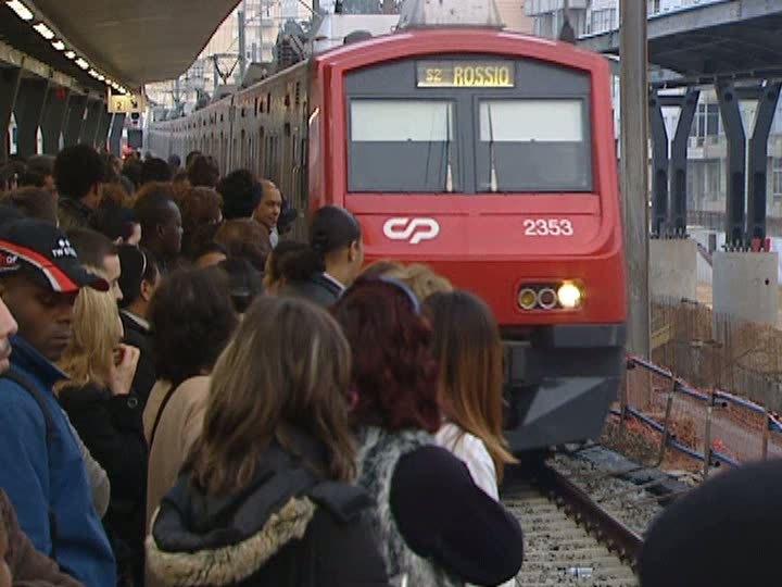Greve nos comboios