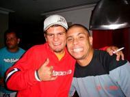 Ronaldo na companhia de um alegado traficante de droga