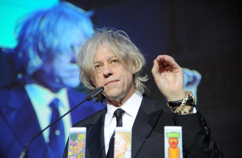 Bob Geldof no Festival de Berlim (EPA/Jens Kalaene)
