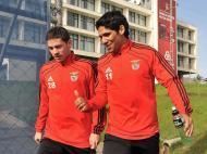 José Luiz Fernández e Franco Jara (Rui Minderico/Lusa)