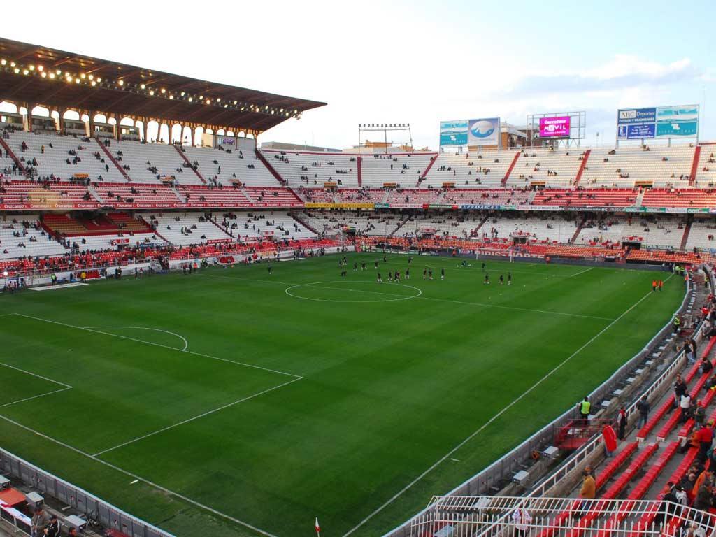 Estádio Ramon Sanchez-Pizjuan, em Sevilha