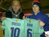 Wilshere e a camisola de Messi no Twitter