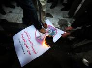 Líbia: protesto em Gaza