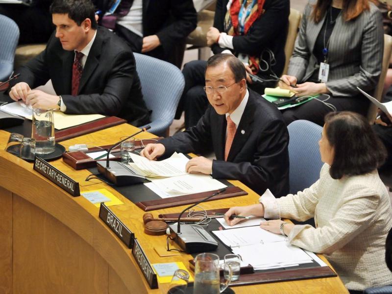 Conselho de Segurança aprova sanções contra a Líbia (EPA/Jason Szenes)