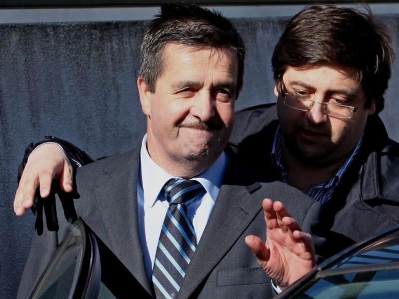 Manuel Godinho sai da prisão [PAULO NOVAIS/LUSA]