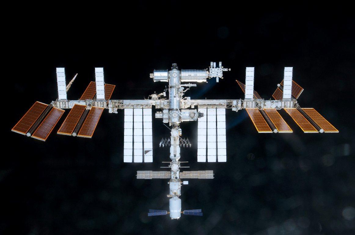 Astronautas do Discovery [EPA/NASA]