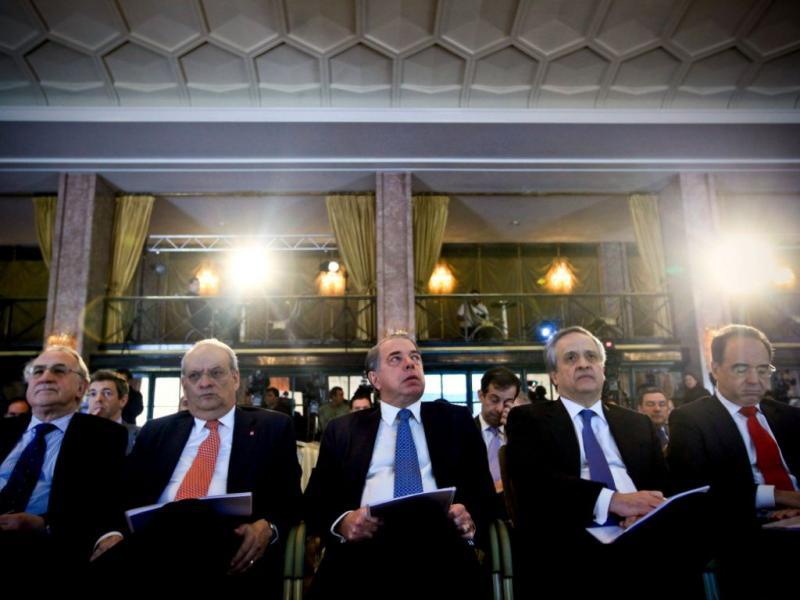 Banqueiros CGD, BES, BPI, BCP e Santander