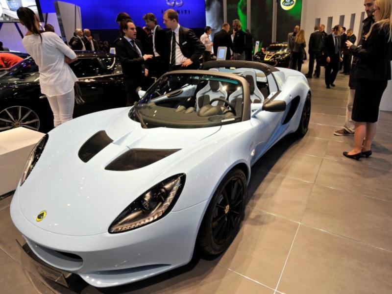 Lotus Elise Club Racer, Salão Automóvel de Genebra 2011