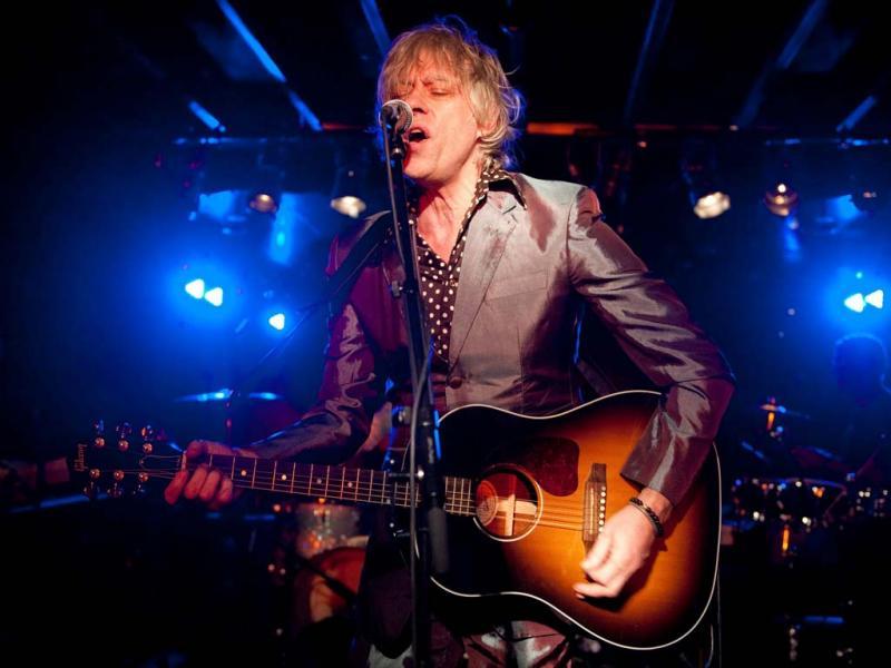 Bob Geldof em Berlim, na Alemanha (EPA/Robert Schlesinger)