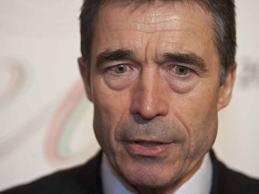 Anders Fogh Rasmussen, secretário-geral da NATO (Zsolt Szigetvary/EPA)