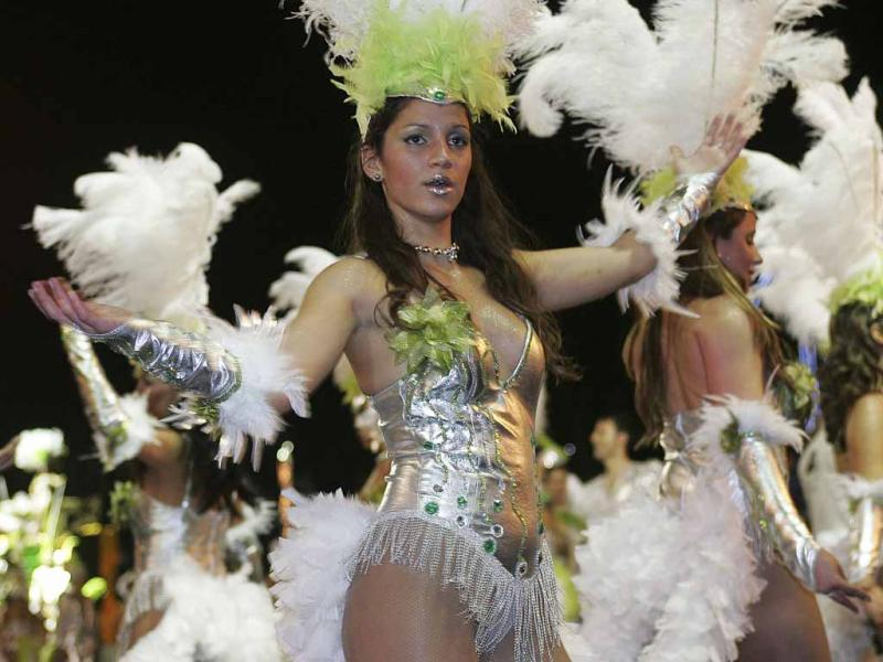Carnaval do Funchal (Homem de Gouveia/LUSA)