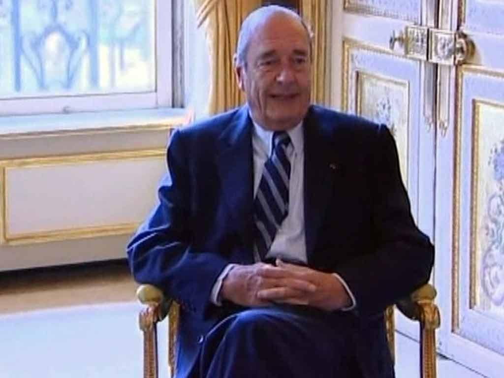 Jacques Chirac em tribunal