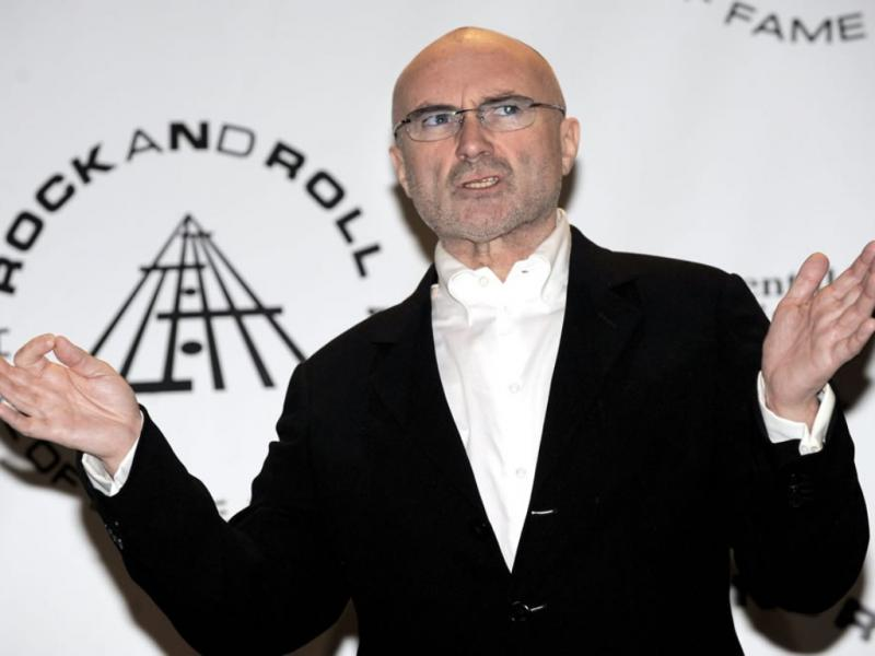 Phil Collins, dos Genesis, na gala do Rock and Roll Hall of Fame 2010 (EPA)
