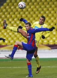 CSKA Moscovo vs FC Porto (EPA/Yuri Kochetkov)