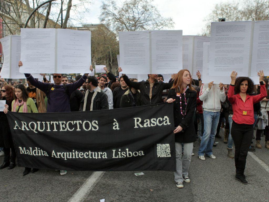 Manifestação Geração à Rasca (LUSA)