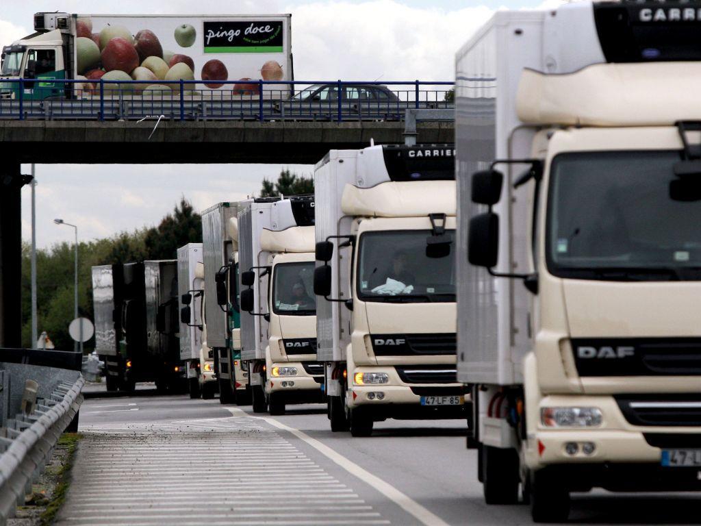 Protesto de camionistas (ESTELA SILVA / LUSA)