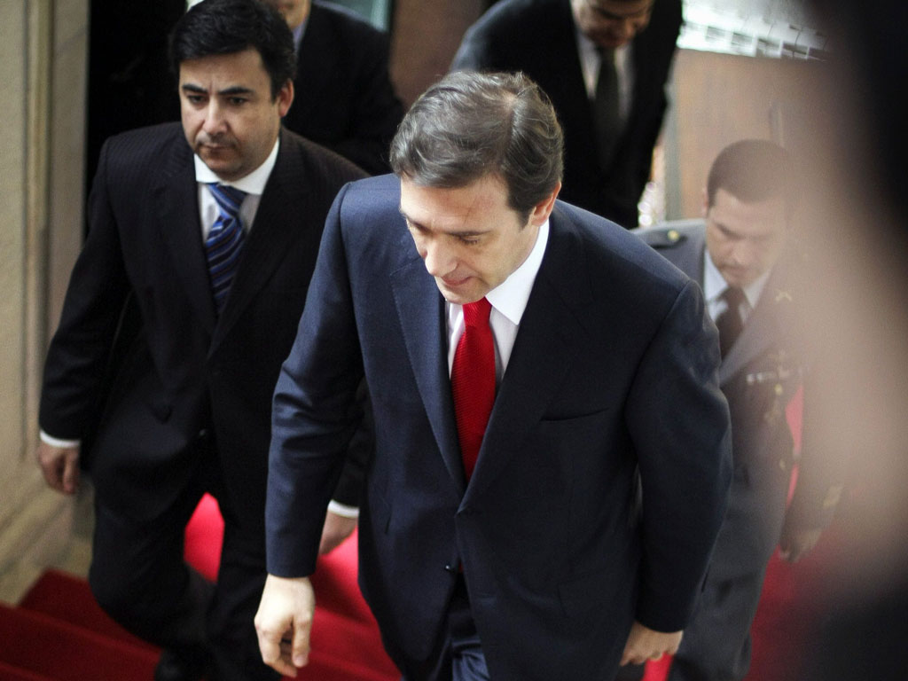 Cavaco recebe Passos Coelho