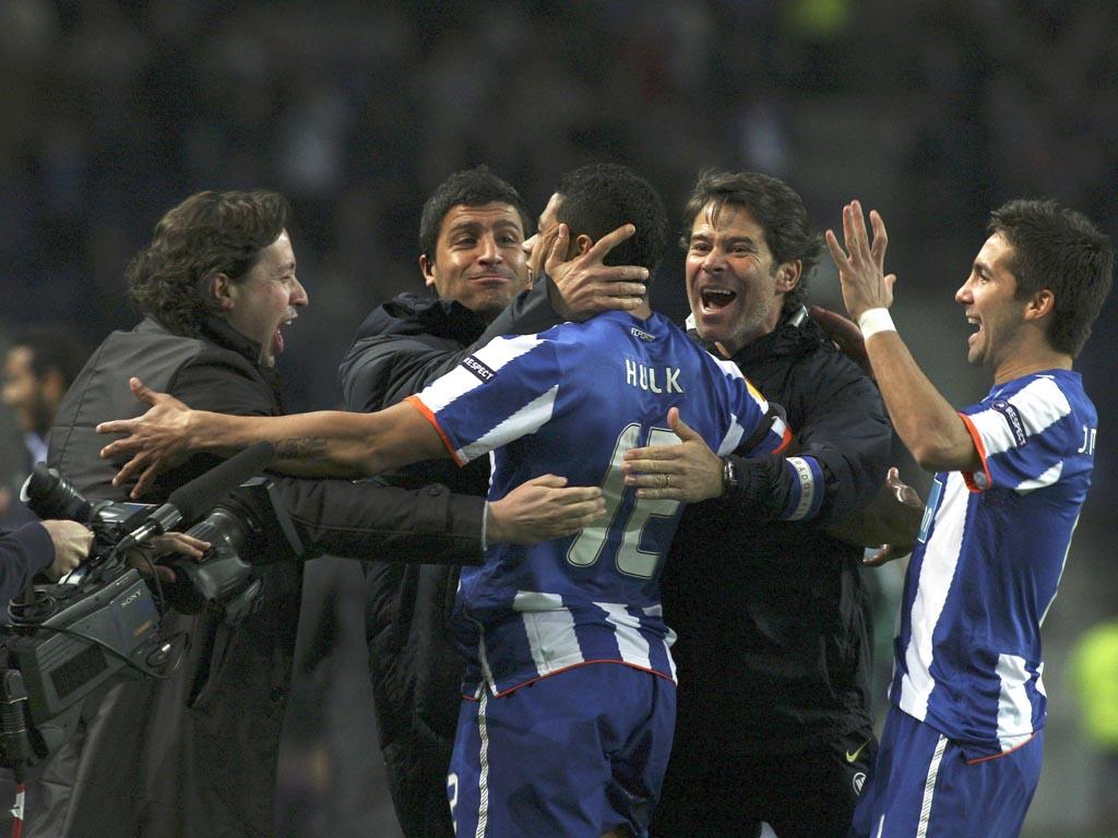 FC Porto vs CSKA Moscow (EPA/ESTELA SILVA)