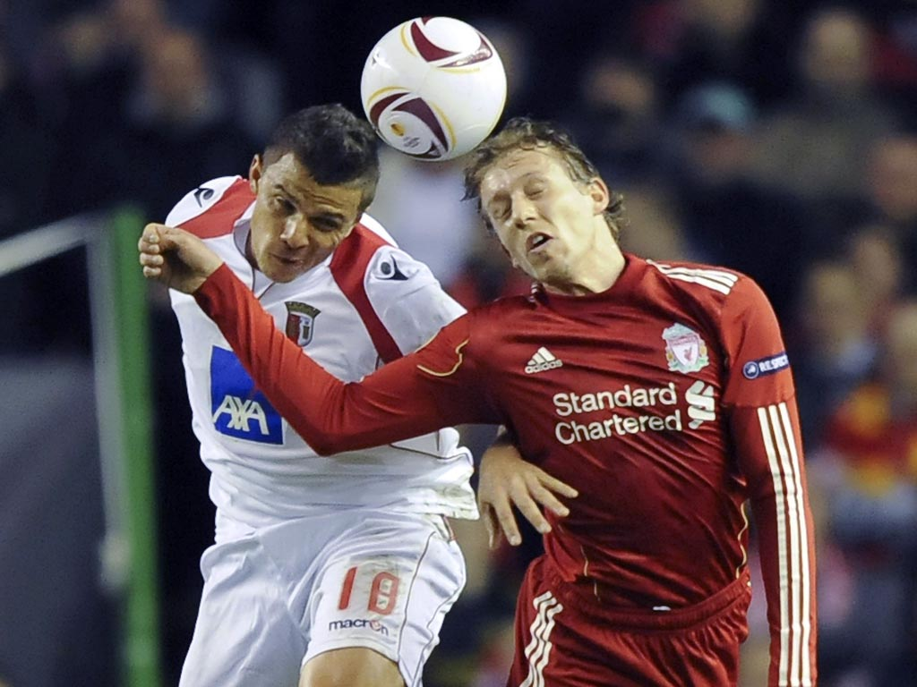 Liverpool vs Sporting de Braga (HUGO DELGADO/LUSA)