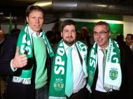 Van Basten, Bruno de Carvalho e Augusto Inácio