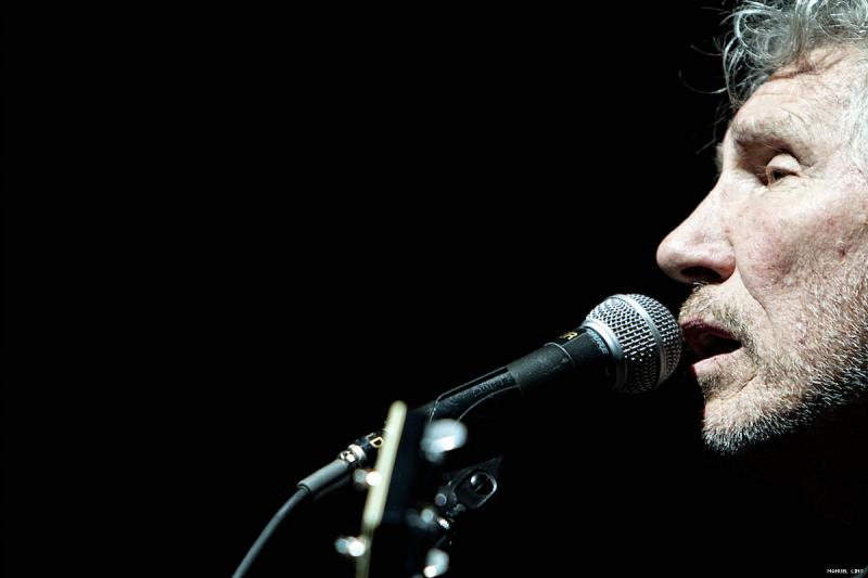 Roger Waters no Pavilhão Atlântico (foto: Manuel Lino)