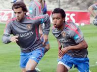 André Santos e Nélson na selecção nacional
