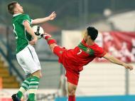 Diogo Viana nos Sub-21 Portugal-Irlanda (LUSA/Paulo Novais)