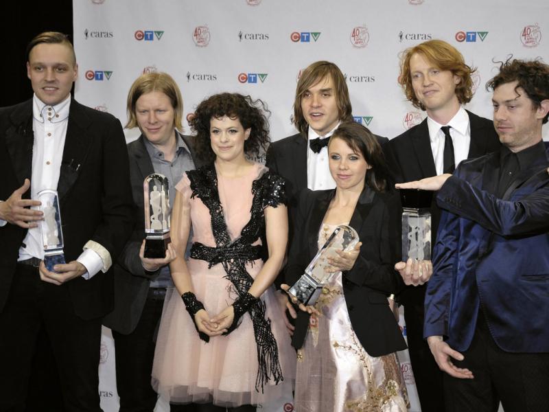 Arcade Fire nos Juno Awards 2011 (EPA/SARAH DEA)
