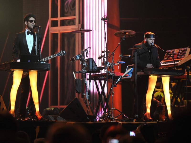 Chromeo nos Juno Awards 2011 (EPA/SARAH DEA)
