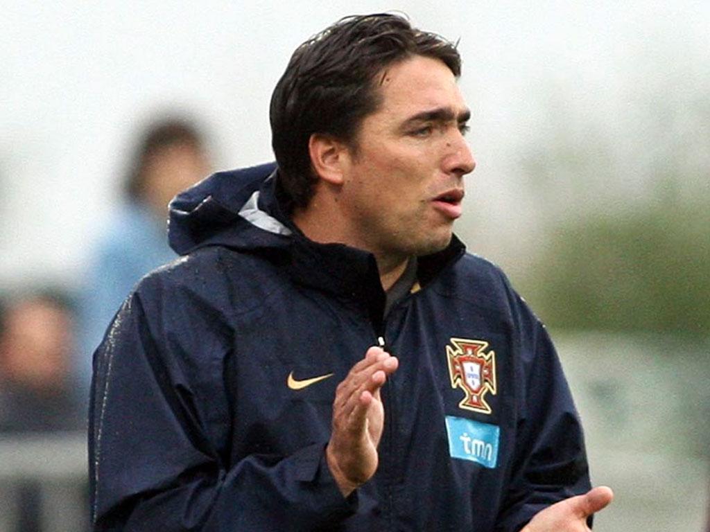 Rui Jorge, seleccionador dos sub-21