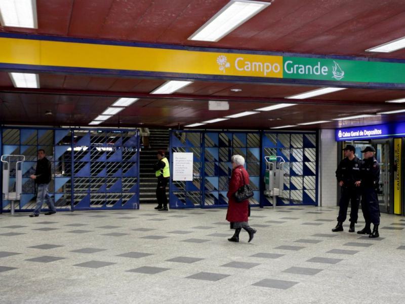 Greve do Metro de Lisboa
