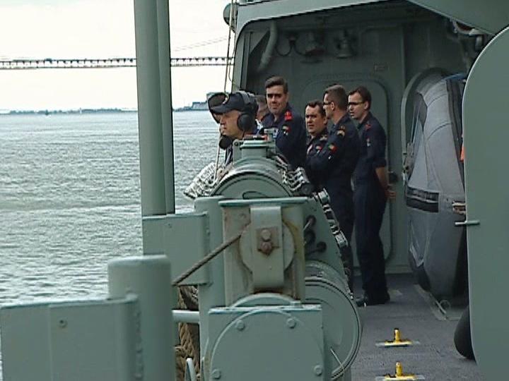 Fragata Vasco da Gama parte para Somália