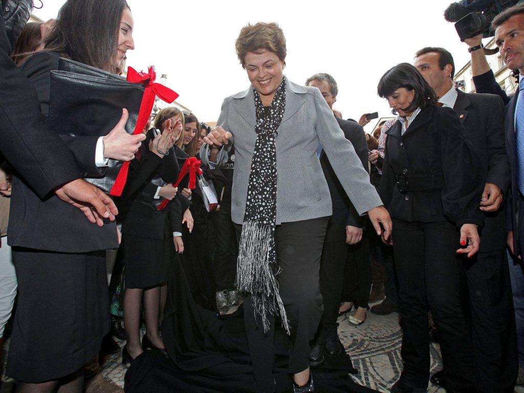 Dilma Rousseff em Portugal [LUSA]