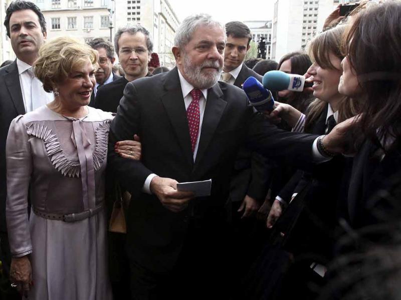 Lula da Silva distinguido em Coimbra (Paulo Novais/Lusa)