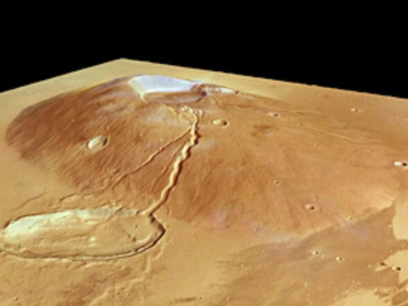 Marte: Ceraunius Tholus