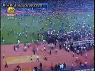 Invasão de campo em jogo do Zamalek